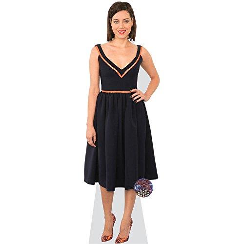 Celebrity Cutouts Aubrey Plaza (Black Dress) Grandeur Nature