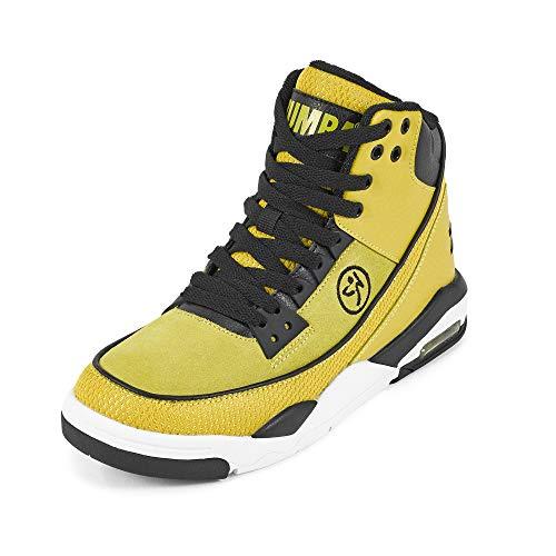 Zumba Air Classic Remix High Top Fitness Workout Dance Shoes for Women, Zapatillas Mujer, Amarillo 1, 38 EU