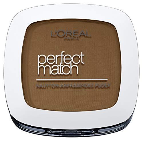 L'Oréal Paris Perfect Match Poudre matifiante 8.D/8.W Golden Cappuccino Perfect Match fond parfaitement avec le ton de peau 9 g