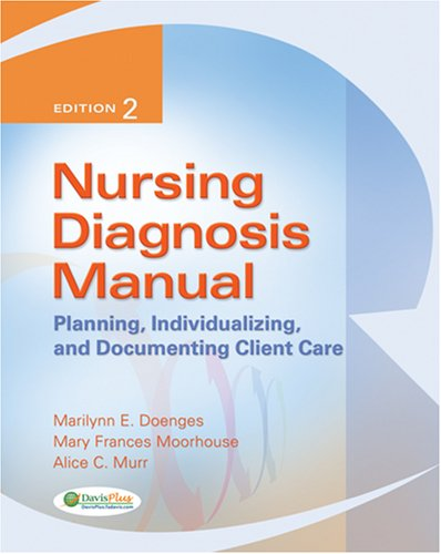 Nursing Diagnosis Manual: Planning, Individualizing and Documenting Client Care