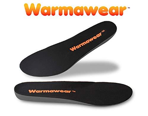 Plantillas Impermeables Calefactables con Batería Recargable WarmawearTM