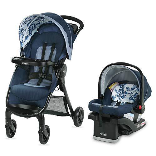 Graco FastAction SE Travel System | Includes FastAction SE...