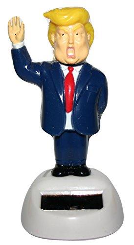 Donald Trump Die Big Wig Präsident Solar Neuheit winken Figur für Home Office Car