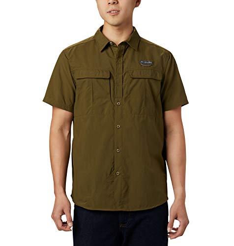 Columbia Cascades Explorer blouse met korte mouwen voor heren