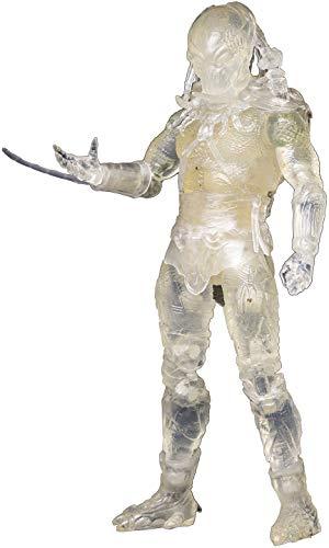 Hiya Toys Predators: Invisible Tracker Predator 1:18 Scale Action Figure, Multicolor