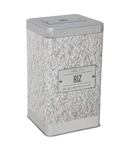 Boîte à riz relief - Capacité 1,250 kg