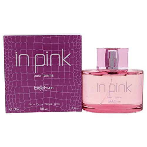 Estelle Ewen in Pink Eau de Parfum Spray for Women, 3.4 Fluid Ounce