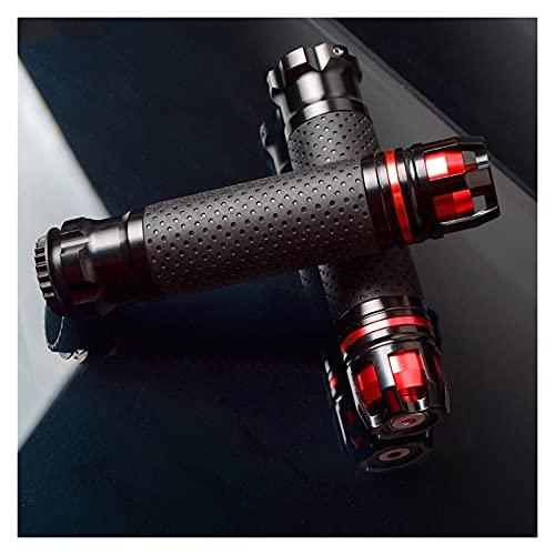 MFLJU Empuñaduras de Manillar de Motocicleta Manillar para 390 / RC390 200 / RC200 RC125 RC125 / 125 22mm 7/8 '' Empuñaduras De Motocicleta Empuñaduras Y Extremos CNC 22mm Manillar (Color : B)