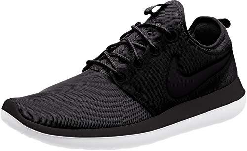 Nike Herren Roshe Two BR Schwarz Textil/Synthetik Sneaker 47,5