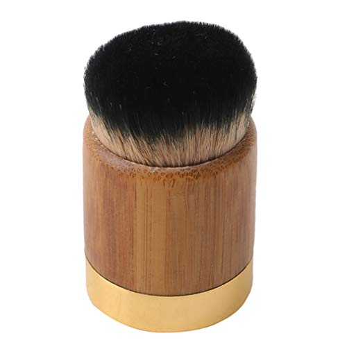 Faliya Foundation Makeup Brush Professional Large Round Head Flawless for Liquid Cream and Powder Brush