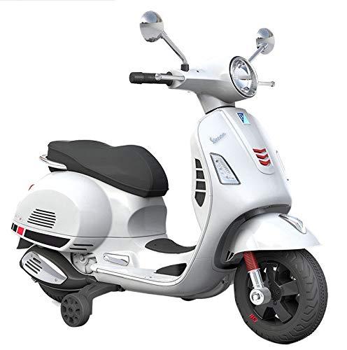 Tecnobike Shop Moto Elettrica Piaggio per Bambini Vespa GT GTS Sport 12V...