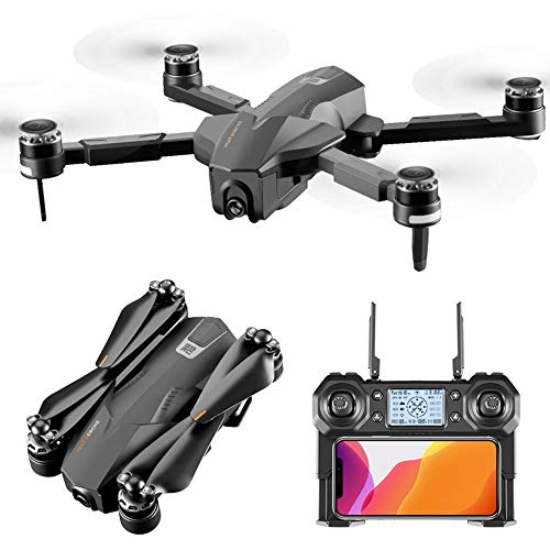 GYZLZZB Aerial Camera Drone, Equipped with 4K+1080P Dual HD Camera, 30 Minutes Flight Time, Intelligent Follow-up, One-Button Return, Surround Shooting, APP Control, Electronic Anti-Shake,