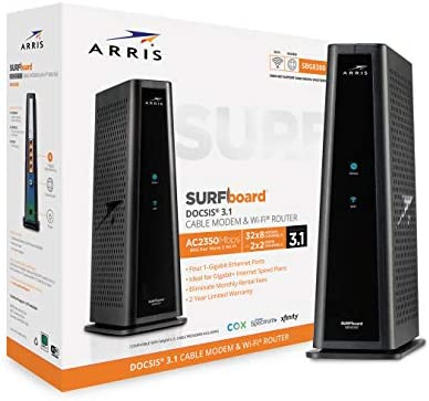 Up to 30% off Arris Modems and Routers