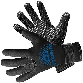BPS Water Gloves, 3mm & 5mm Neoprene Five Finger Wetsuit Gloves for Diving, Snorkeling, Kayaking, Surfing, Winter, Canoein...