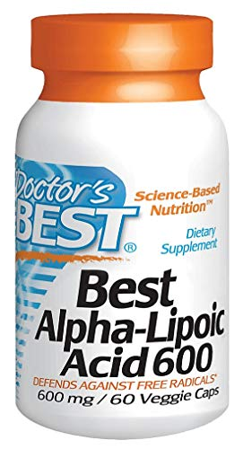 Doctors Best - Best Alpha Lipoic Acid, 600 mg, 60 vegetarian capsules
