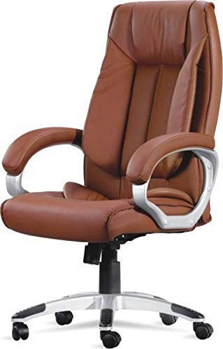 Mezonite High Back Brown Cushion Leatherette Office Executives Chair