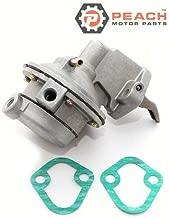 Peach Motor Parts PM-861677T Fuel Pump, Mechanical; Replaces Mercruiser: 861677T, 818383T, Mercury Marine: 861677T, Sierra: 18-8860 Made by Peach Motor Parts