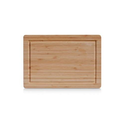 Zeller 25219 Planche à découper, Bambou, Brun, 32 x 22 x 1,6 cm