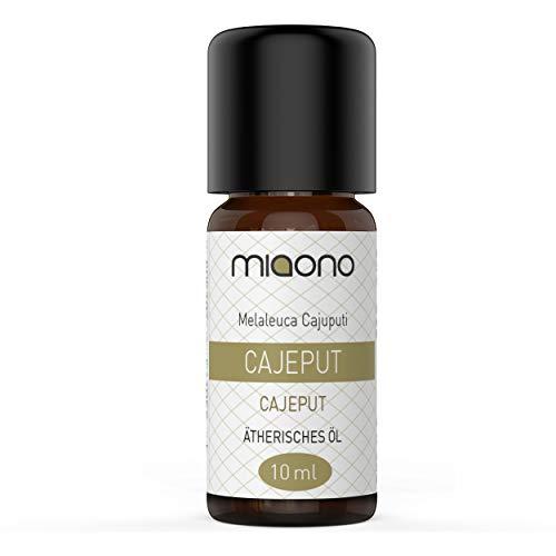 Cajeput Öl - 100% naturreines, ätherisches Öl (10ml) von miaono (Glasflasche)
