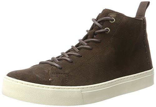 TOMS Lenox Mid Chocolate Brown Suede 12