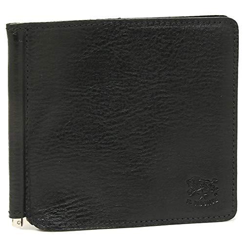 [イルビゾンテ]折財布 マネークリップ メンズ IL BISONTE C0471P 153 ブラック [並行輸入品]