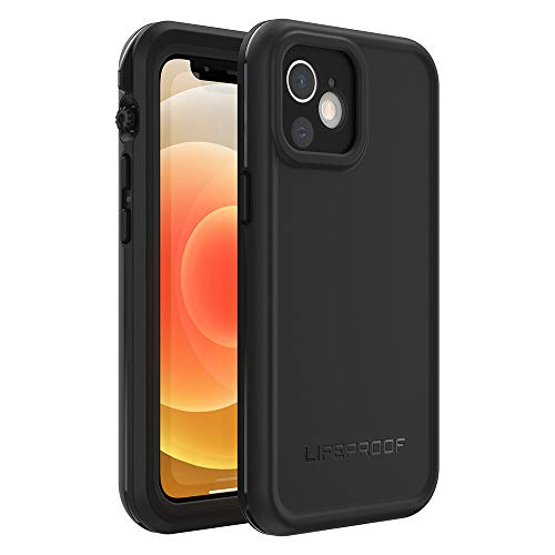 LifeProof FRE Series Waterproof Case for iPhone 12 Mini - Black (77-65887)