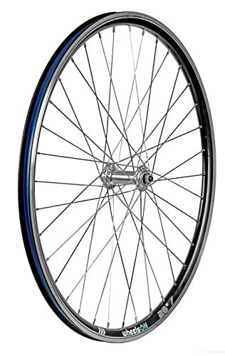 wheelsON 26 inch Front Wheel Hybrid/Mountain Bike V-Brake 36H Black Quick Release
