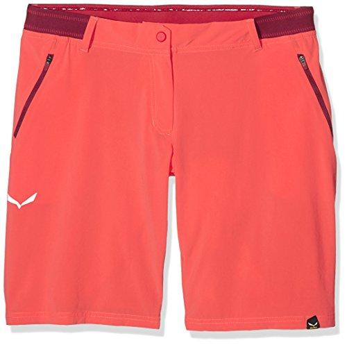 Salewa Damen Wanderhose Kurz PEDROC Bermuda DST Shorts, hot coral/6520, 38, 00-0000025433