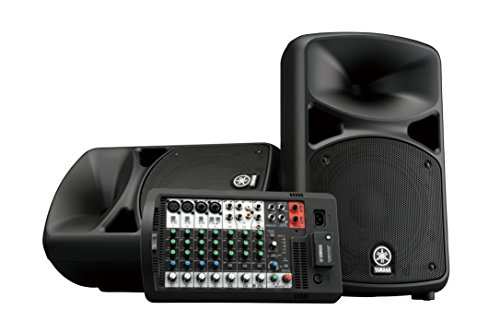 Yamaha Portable PA System with Bluetooth Stagepas 600BT