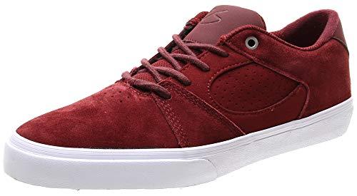 eS Herren Square Three Skate Schuh, Rot (burgunderfarben), 43 EU