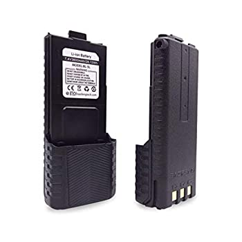 BaoFeng BTECH BL-5L 3800mAh Li-ion Battery Pack High Capacity Extended Battery for UV-5X3 BF-F8HP and UV-5R Radios  BL-5 BaoFeng Battery Series