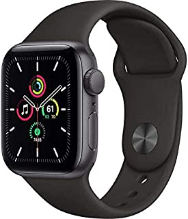 Smartwatch Apple Watch SE 40 mm Space Gray Black Sport Band