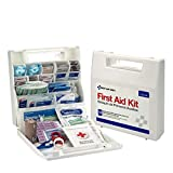 First Aid Only 50 Person OSHA First Aid Kit, Plastic Case with Dividers