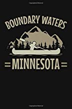 Boundary Waters Minnesota: A Lined Notebook and Journal