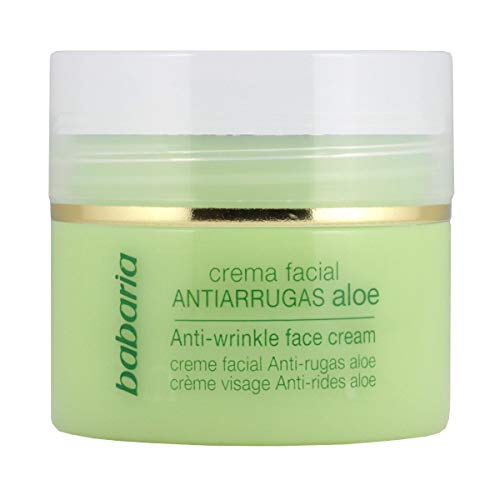 Barbaria - Aloe Vera Antiarrugas - Crema Facial - 50 ml (8410412026239)