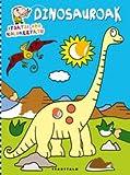 Dinosauroak (Itsatsi eta koloreztatu)