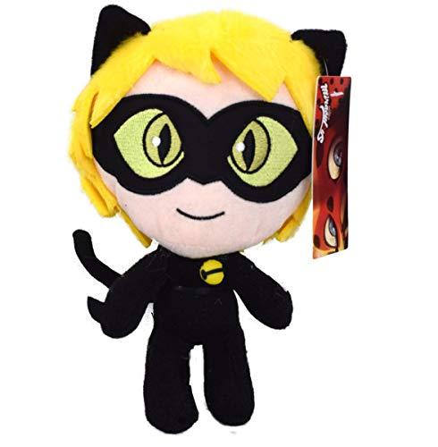 ZAG Miraculous Cat Noir Plüschfigur Plüsch Kuscheltier Puppe Stofftier Teddy 24cm