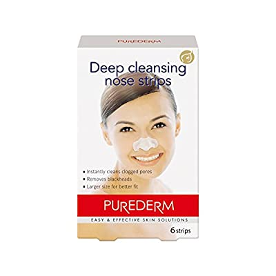 Deep Cleansing Nose Pore Strips (contains 6 strips)