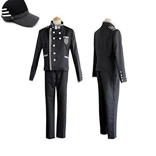 Danganronpa V3 Killing Harmony Saihara Shuichi Super Detective Disfraz de Cosplay + sombrero