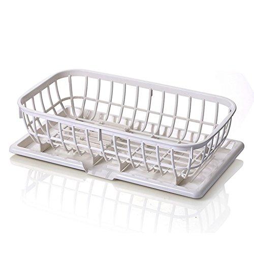 Plateaux de cuisine Cuvette de cuisine en plastique Etagère de table Baguettes de table Boîte de rangement Goutte à goutte Plate Plate 41 * 23.5 * 13CM (taille : 41 * 23.5 * 13CM)