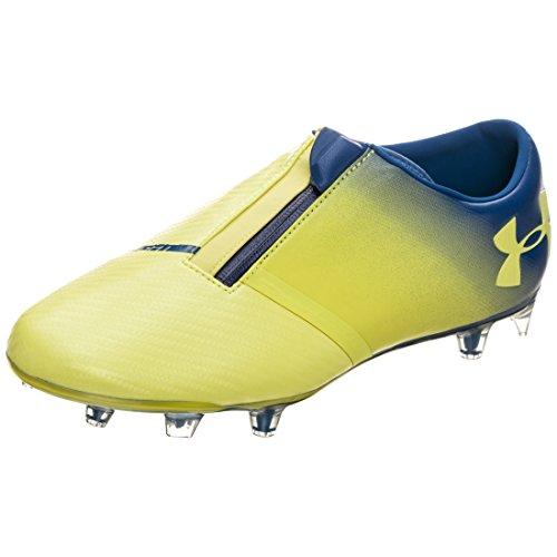 Under Armour Men's Spotlight FG Football Boots, Gelb Gelb Blau Gelb Blau, 7 UK