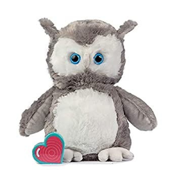 My Baby s Heartbeat Bear Recordable Stuffed Animals 20 sec Heart Voice Recorder for Ultrasounds and Sweet Messages Playback Perfect Gender Reveal for Moms to Be Vintage Owl