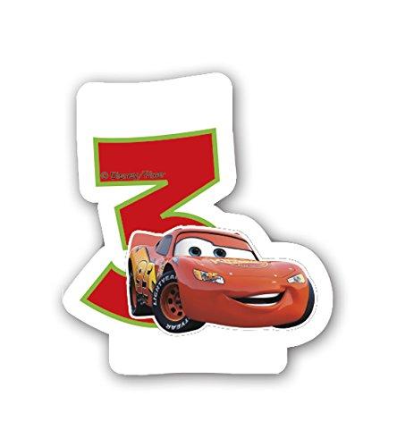 Disney 71716 Kuchendekoration, , rot, , Stück: 1