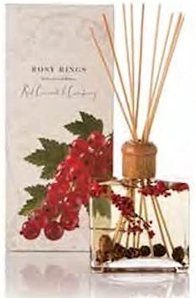 Rosy Rings Botanical Reed Diffuser Red Currant Cranberry