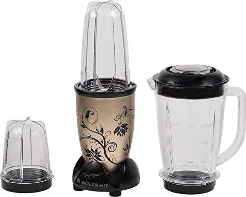 Wonderchef Nutri-Blend Juicer Mixer Grinder, 400W