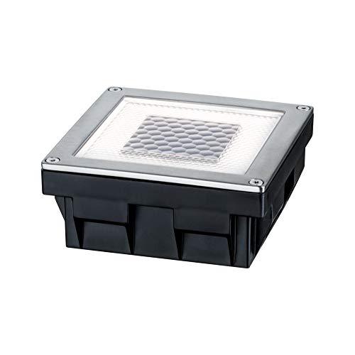 Paulmann 937.74 Special Line Solar Cube/Box LED IP67 Warmweiß 0,24W 93774 Solarleuchte Outdoor Bodenleuchte Außenleuchte Pflasterstein Gartenleuchte Terrassenleuchte