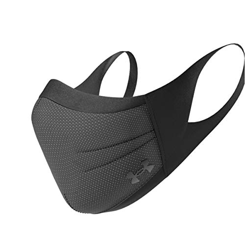Under Armour Sports Facemask - Black/Black Medium/Large