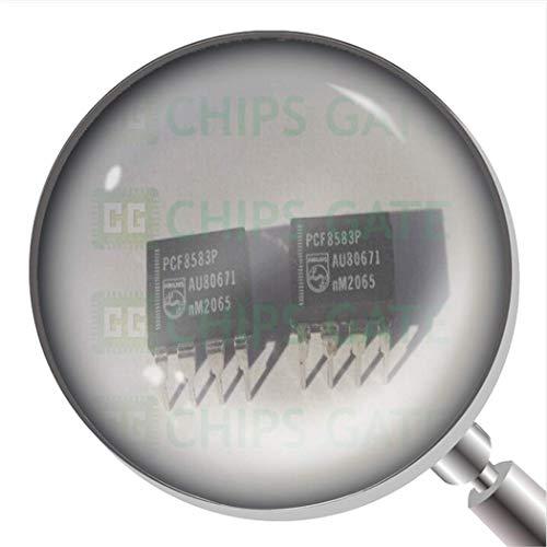 PCF8583P - Reloj en tiempo real CLK/calendario, 240 x 8 Ram