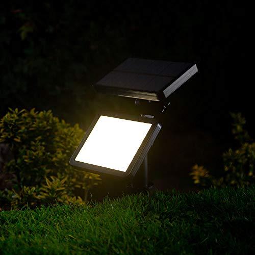 Vega da esterni a energia solare bianco caldo giardino LED panel Light