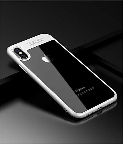 IKIJCOVER Schutzhülle für iPhone X, original Silikon, Ultra Slim Armor TPU Bumper Soft Hybrid Cover Slim Armor Smart Case